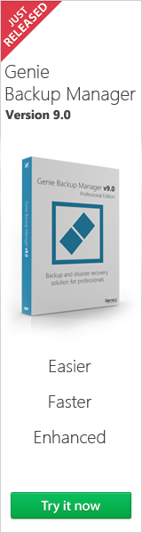 Genie Backup Manager Server Full 9